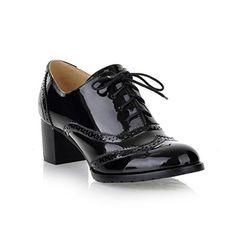Mostrin Women's Lace Up Wingtip Oxford Shoes Classic Fash... https://www.amazon.com/dp/B01MXV5MKR/ref=cm_sw_r_pi_dp_x_b3TkzbJ0E9D2X