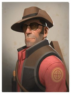 The Sniper - Team Fortress 2 - Moby Francke