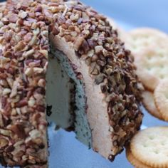 Mega 6-Layer Cheeseball; the perfect appetizer to your next BBQ
