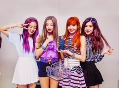 Check out Blackpink @ Iomoio Kpop Girl Groups, Korean Girl Groups, Kpop Girls, Forever Young, K Pop, Square Two, Jenny Kim, Black Pink Kpop, Blackpink Members