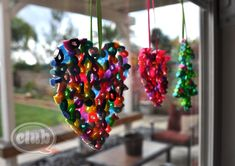 Melted Bead Ornaments DIY | Tween Crafts - Connecting Mom and Daughter through crafting