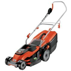 BLACK+DECKER 15 in. 10-Amp Walk-Behind Corded Electric Mower-EM1500 - The Home Depot