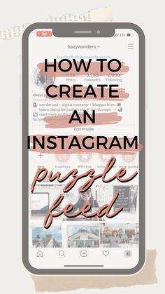 Quick Instagram Puzzle Feed Tutorial Video