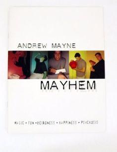 Mayhem book Andrew Mayne - 2003 - OOP NEW