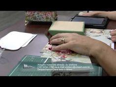 Mulher.com 10/10/2014 - Caixa Scrap por Marisa Magalhães Parte 1 - YouTube