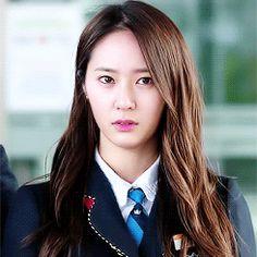 1k gifs f(x) Krystal krystal jung heirs the heirs Lee Bona lookin too good girly happy birthdayyyyyyy