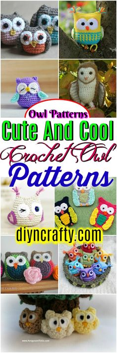 I have ghathered 20 #crochet #owl patterns-how to crochet owl patterns that will really inspire you!