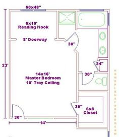 Master Bedroom Floor Plans With Bathroom | Bathroom Plan Design Ideas - Free Bathroom Floor Plans/Master Bedroom ...