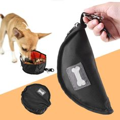 Polyester Waterproof Dog Portable Pet Bowl