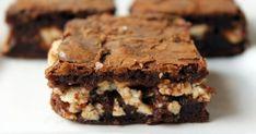 Túrókrémes brownie | Nosalty Nutella, Brownies, Sweet, Food, Cake Brownies, Candy, Essen, Meals, Yemek