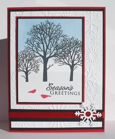 Winter Snowflakes by ladybug91743 - Cards and Paper Crafts at Splitcoaststampers