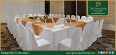 Luxurious conference rooms with high-tech amenities at @Golden  Mussoorie, is the ideal MICE destination, providing a calm and very private choice for successful business meetings. Visit www.goldenpalmshotel.com for more details. #MagnificentMondays