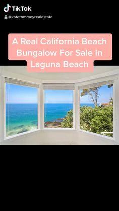 A real beach bungalow for sale in Laguna Beach California