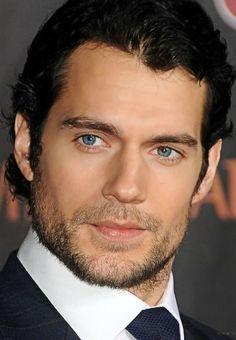 Henry Cavill... and those gray eyes... Christian Grey gray eyes!