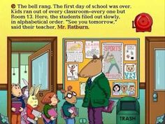 Arthur's Teacher Trouble!!! I played this in the library when I finished my work ahead of time and got good grades!!