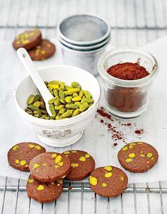 Receta de galletas de chocolate con pistache #Recetas #FoodAndTravelMX