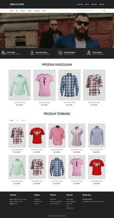 Simplis Store a Ecommerce Web Design for EZStore