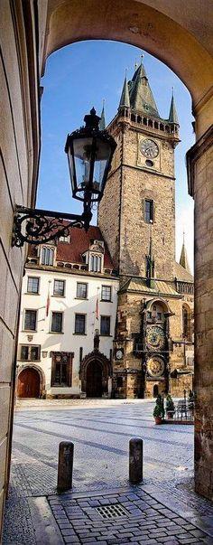 Astronomical Clock, Old Town Hall Tower, Prague, Czechia Dubrovnik, La Provence France, Saint Marin, Prague Travel, Prague Czech Republic, Heart Of Europe, Central Europe, Most Beautiful Cities, Eastern Europe