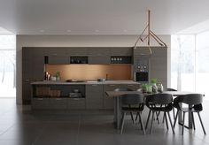 Sigdal kjøkken - Amfi Eik 2.0 kongle