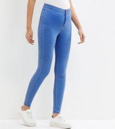 new look light blue jeans - Google Search