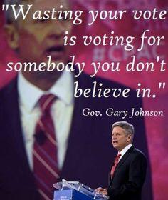 Gary Johnson  4 President