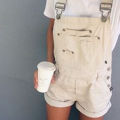 chop those overalls into short-alls