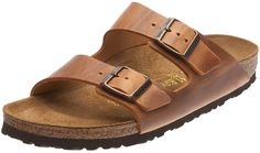 NEW ARIZONA 42M 11-11.5 US WOMEN'S {ANTIQUE BROWN} LEATHER SANDAL BIRKENSTOCK