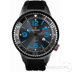 Kienzle Poseidon K0421 Small watch black/blue