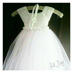 Crochet Tutu Dresses | Lil Joy Tutu Dresses, Girls Dresses, Flower Girl Dresses, Crochet Tutu Dress, Joy, Wedding Dresses, Fashion, Dresses Of Girls, Bride Dresses