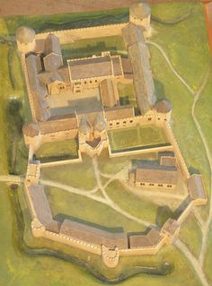 Farleigh Hungerford Castle model | Flickr - Photo Sharing!