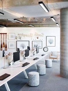 ✔ Office Design Commercial Interiors – Creative Home Office Design Corporate Office Design, Office Furniture Design, Office Interior Design, Office Designs, Space Interiors, Office Interiors, Design Interiors, Commercial Office Design, Commercial Office Furniture