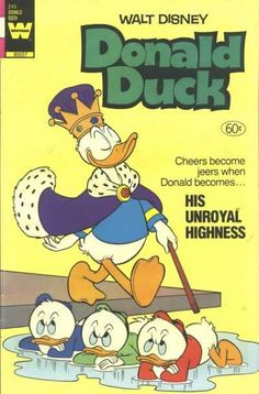Donald Duck #245 - His Unroyal Highness (Issue)