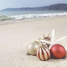 Christmas + Beach :