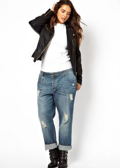 Trendy Plus Size Fashion for Women  Jeans - updated for Can t go wrong with  white T b6ca4b989154