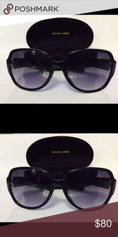 Michael Kors Sunglasses Authentic black MK sunglasses in excellent condition. Never used. Michael Kors Accessories Sunglasses