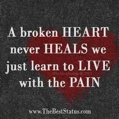 Sad Love Quotes :    QUOTATION – Image :    Quotes Of the day  – Life Quote  A broken heart  Sharing is Caring  - #Love https://quotestime.net/sad-love-quotes-a-broken-heart/