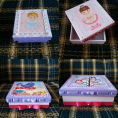 Caixas decoradas infantil