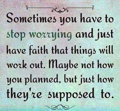 Keep Patience.