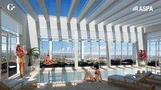 Día de oficina, noche en la piscina. Descubrí la #TorreMixUseNqn en www.gtrneuquen.com.ar