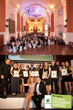 The Pro Carton Award Gala in Salzburg, Austria.