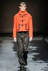 Topman Design AW14  http://attireclub.org/2014/01/11/london-collections-men/ #London #UK #LondonCollectionsMen #mensfashion #style #orange #men