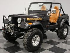 1984 Jeep CJ 7 Renegade for sale