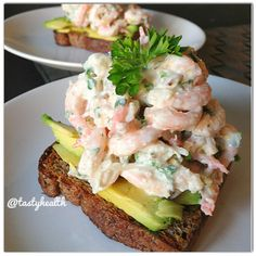 I Love Food, Good Food, Swedish Recipes, English Food, Mindful Eating, Tasty, Lchf, Seafood Recipes, Low Carb Recipes