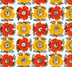 Poppies pattern.