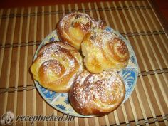 Hungarian Recipes, Hungarian Food, Sweet Bread, Pretzel Bites, French Toast, Muffin, Goodies, Yummy Food, Sweets