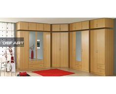 Superb Modern bedroom closet wardrobe Made in Germany by Rauch Furniture