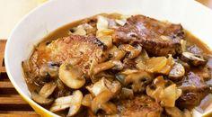 Pork Chops In Mushroom Marsala Sauce Recipe on Yummly Pork Recipes With Sauce, Recipes With Oyster Sauce, Easy Pork Chop Recipes, Easy Recipes, Gourmet Recipes, Cooking Recipes, Dinner Recipes, Dinner Ideas, Dessert Recipes