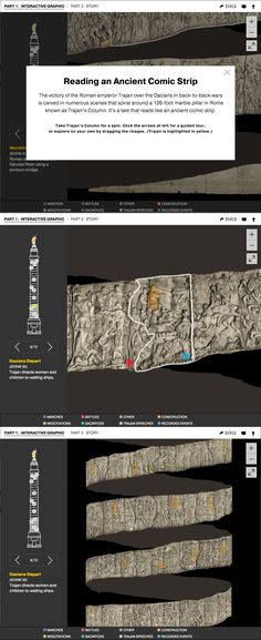 TRAJAN'S COLUMN - Spin Trajan's Column in this interactive 3D graphic. By Fernando Baptista and Daniela Santamarina. Published April 2015.