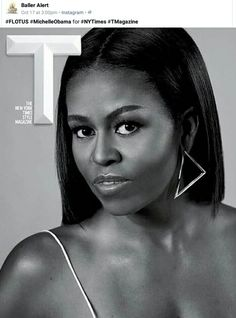 First Lady Michelle Obama,  is strikingly beautiful.
