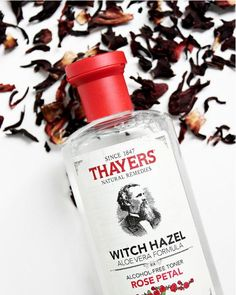"Freshen up your face with Thayer's rose petal toner, <a href=""https://www.amazon.com/dp/B007HD570Q/?tag=buzz0f-20"